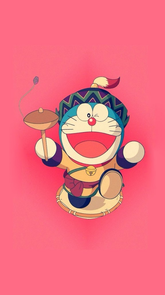 Running Doraemon iPhone 6 6 Plus and iPhone 54 Wallpapers 576x1024