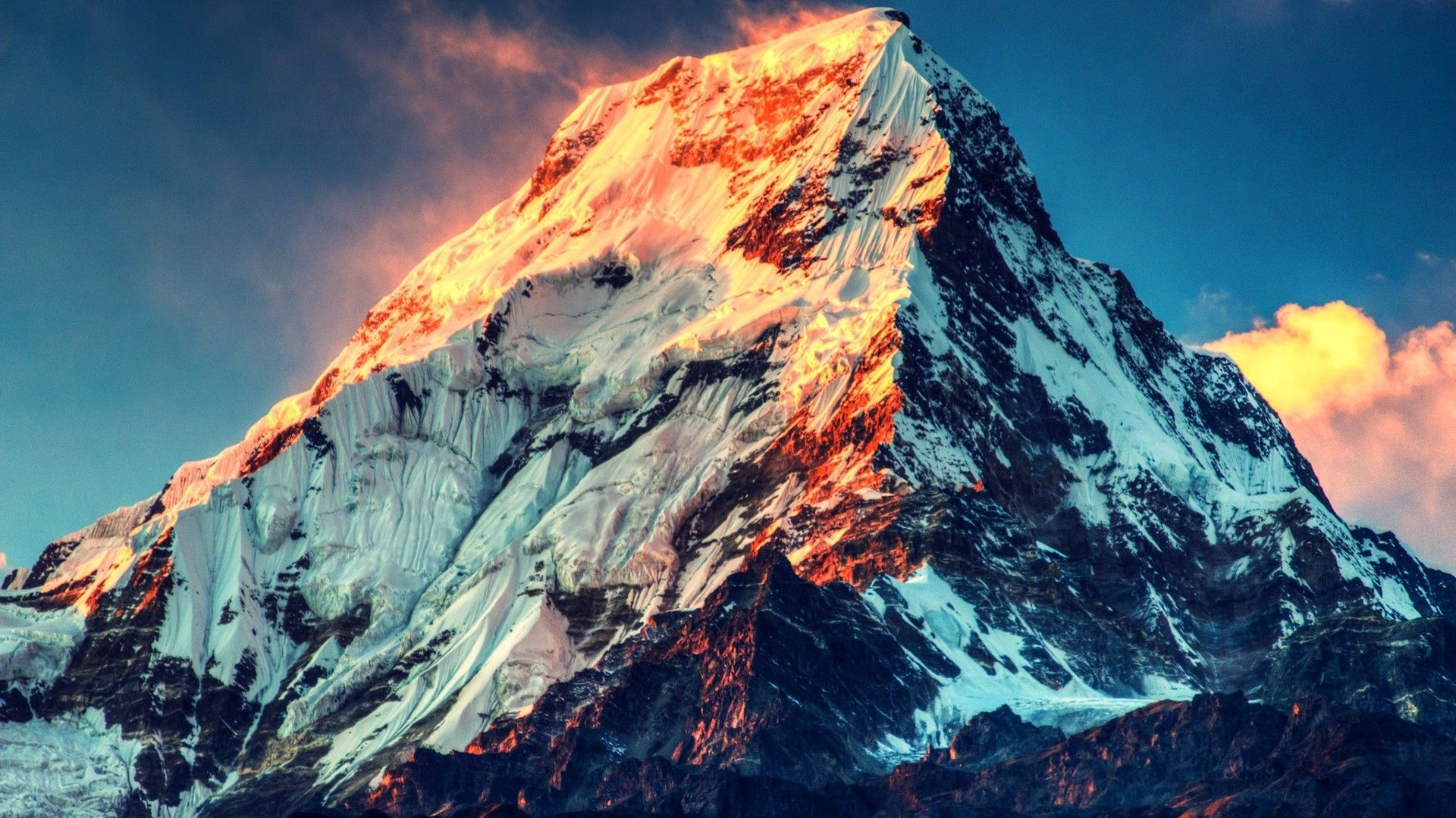 mount everest wide high definition wallpaper download mount 1920x1080