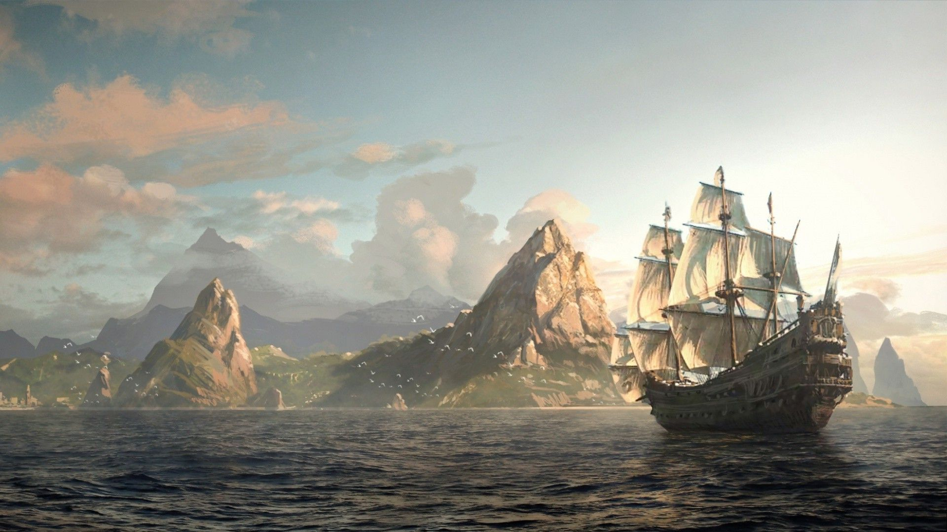 pirate wallpaper 1600x900 - photo #4