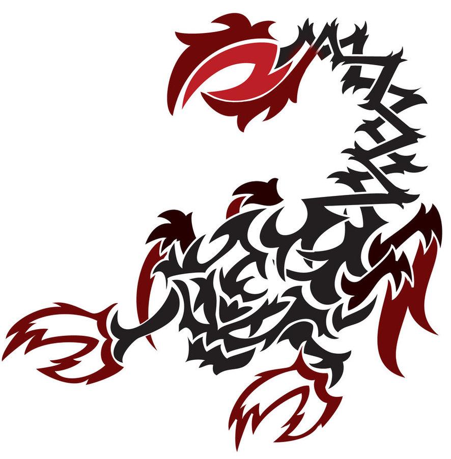Tribal Scorpion by white tigress 12158 886x902