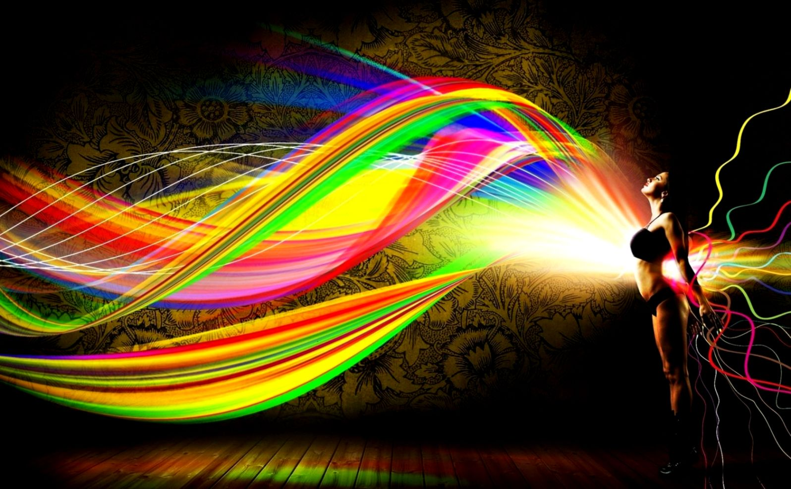 Hd Wallpaper Abstract Bright Wallpapers Gallery X