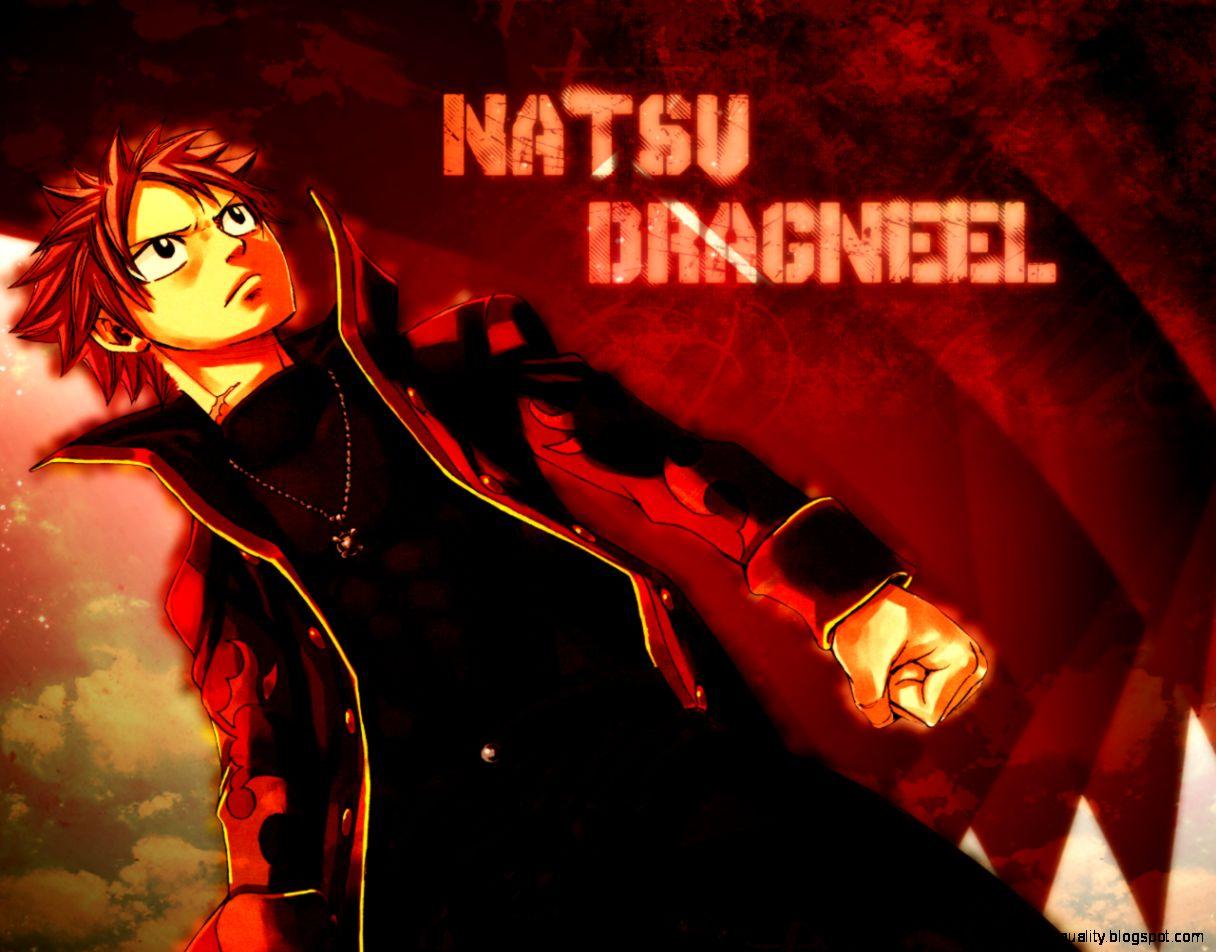 Natsu Dragneel Fairy Tail Hd Wallpaper 1216x952