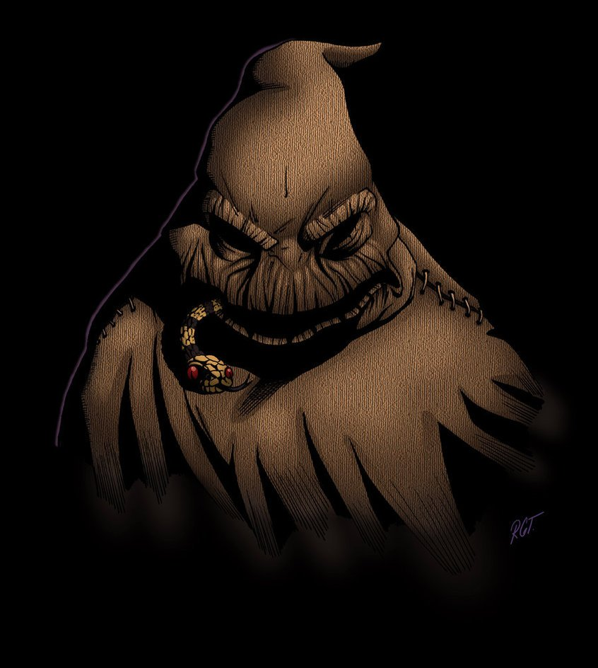 Free Download Oogie Boogie Man By Python777 846x944 For