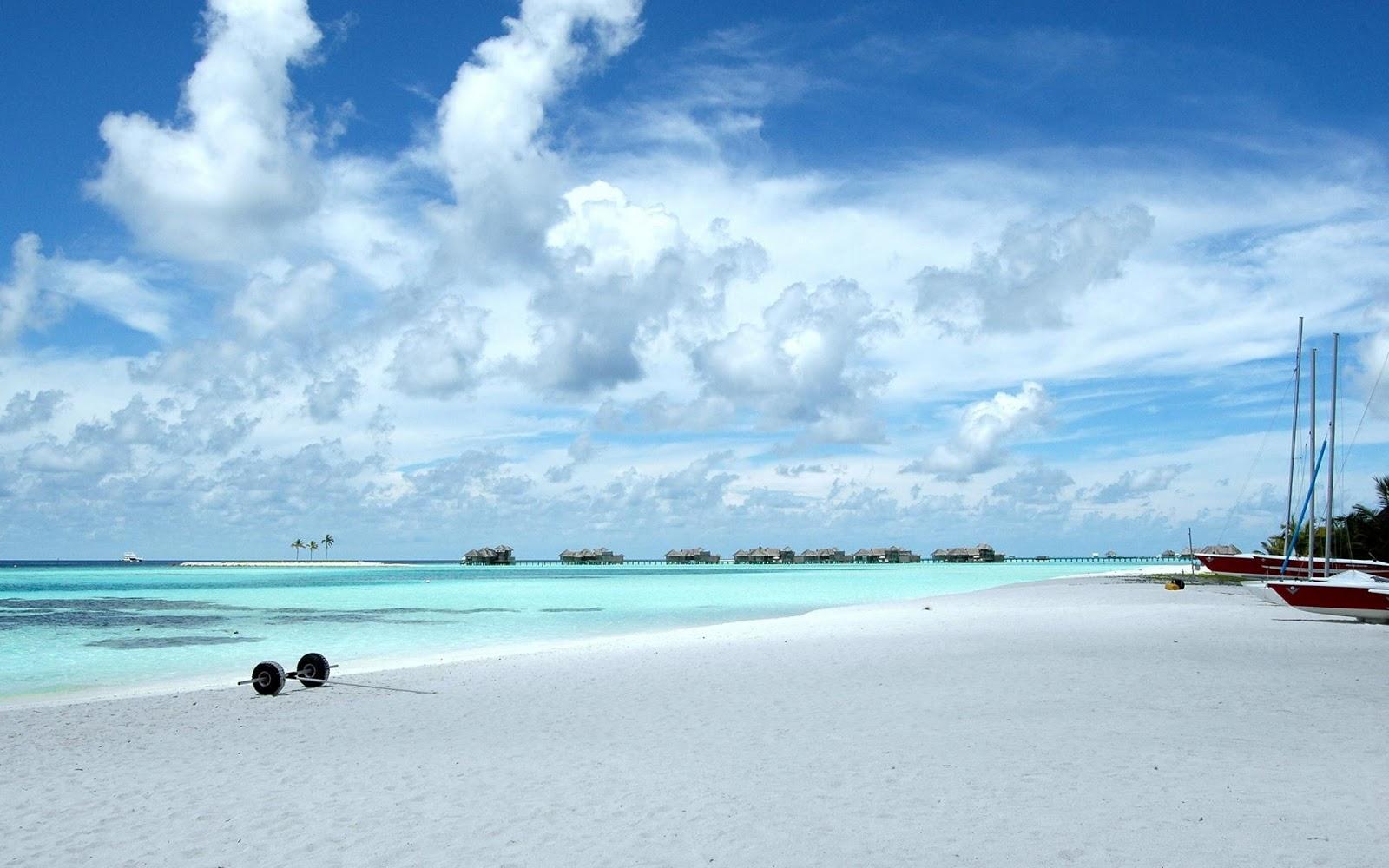 Beautiful Wallpaper: Beautiful Beach Scene Wallpapers