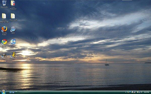 Desktop Cape Cod Sunset 2008 by demonpudding 600x375