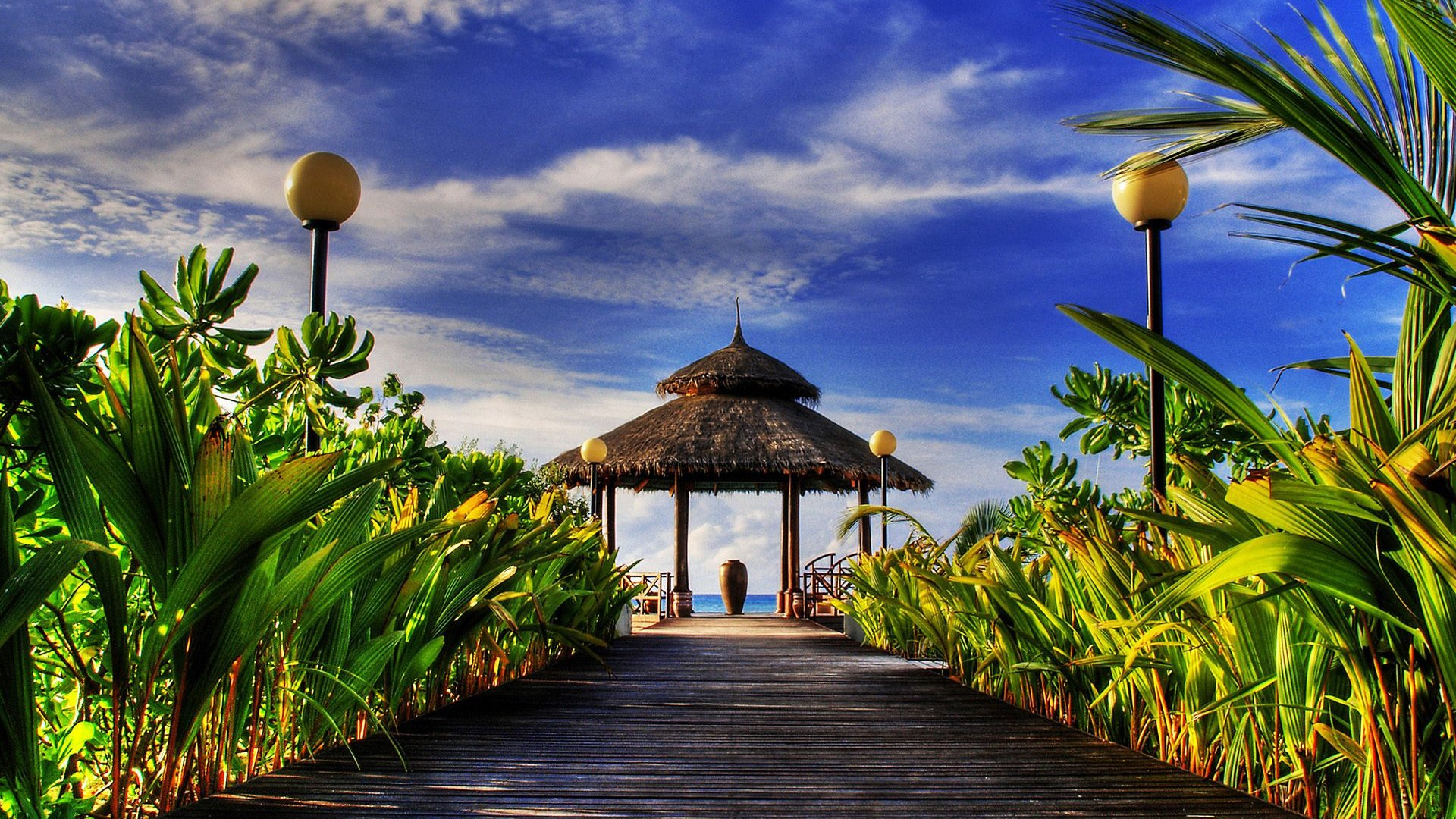 Welcome Paradise HDR Wallpapers HD Wallpapers 1920x1080