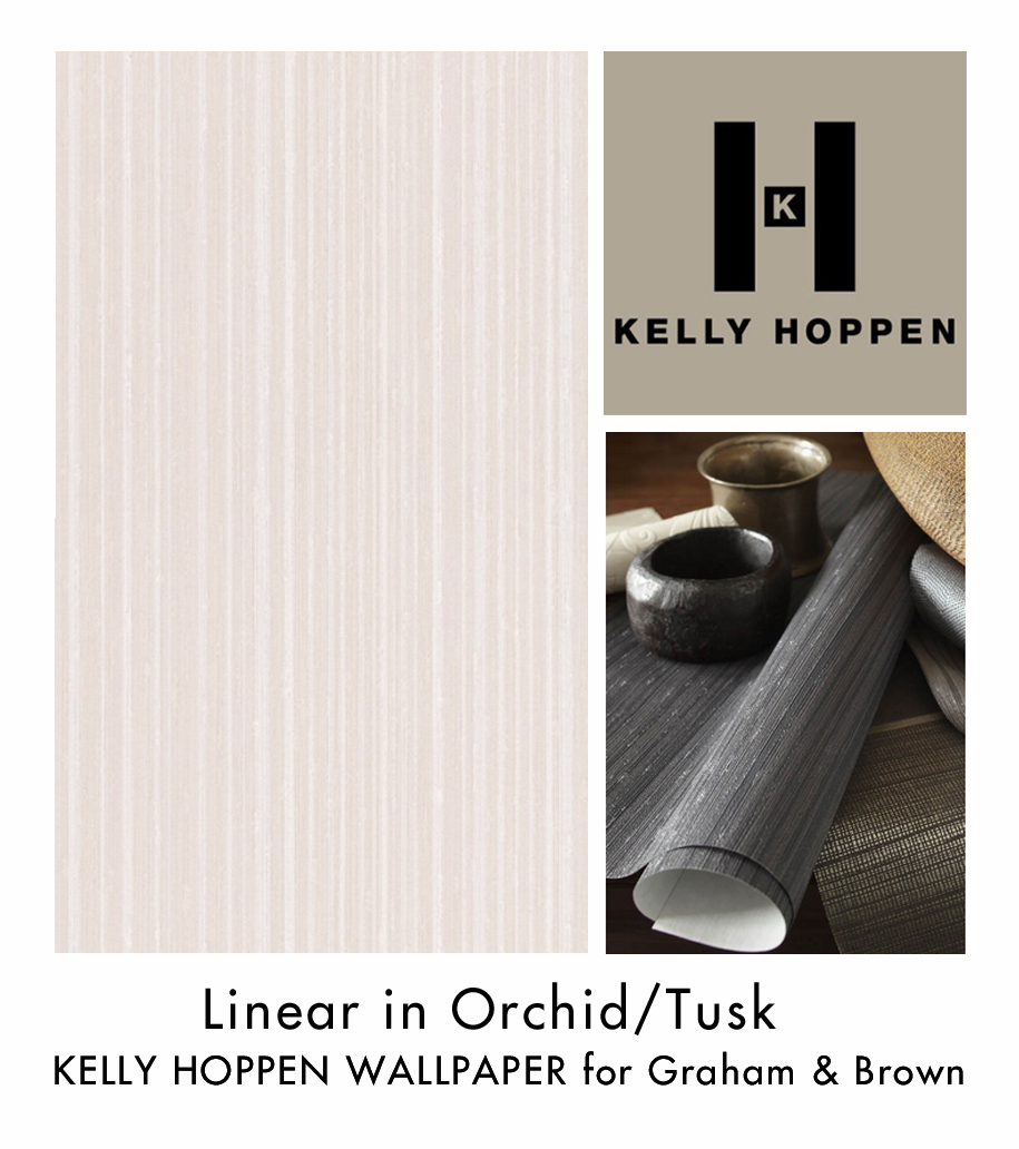 This gorgeous wallpaper has very subtle textured lines in contrasting 915x1032