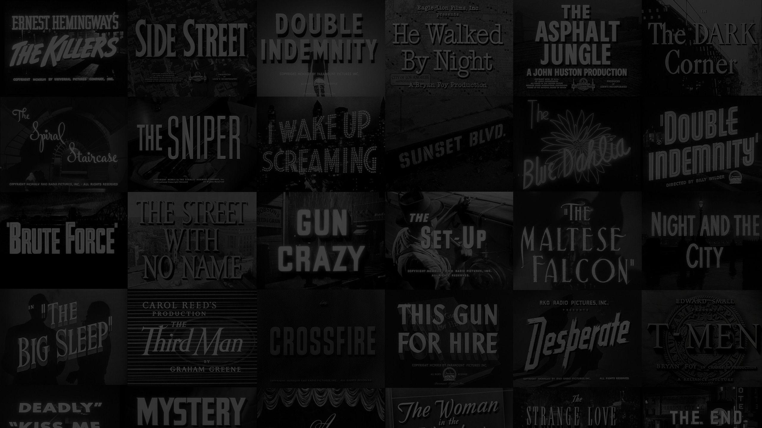 78 Film Noir Wallpaper On Wallpapersafari