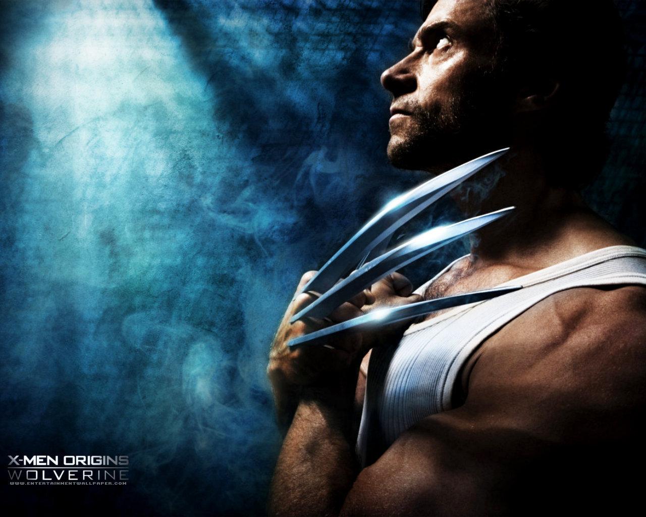 X Men Origins Wolverine   Hugh Jackman Wallpaper 5756253 1280x1024