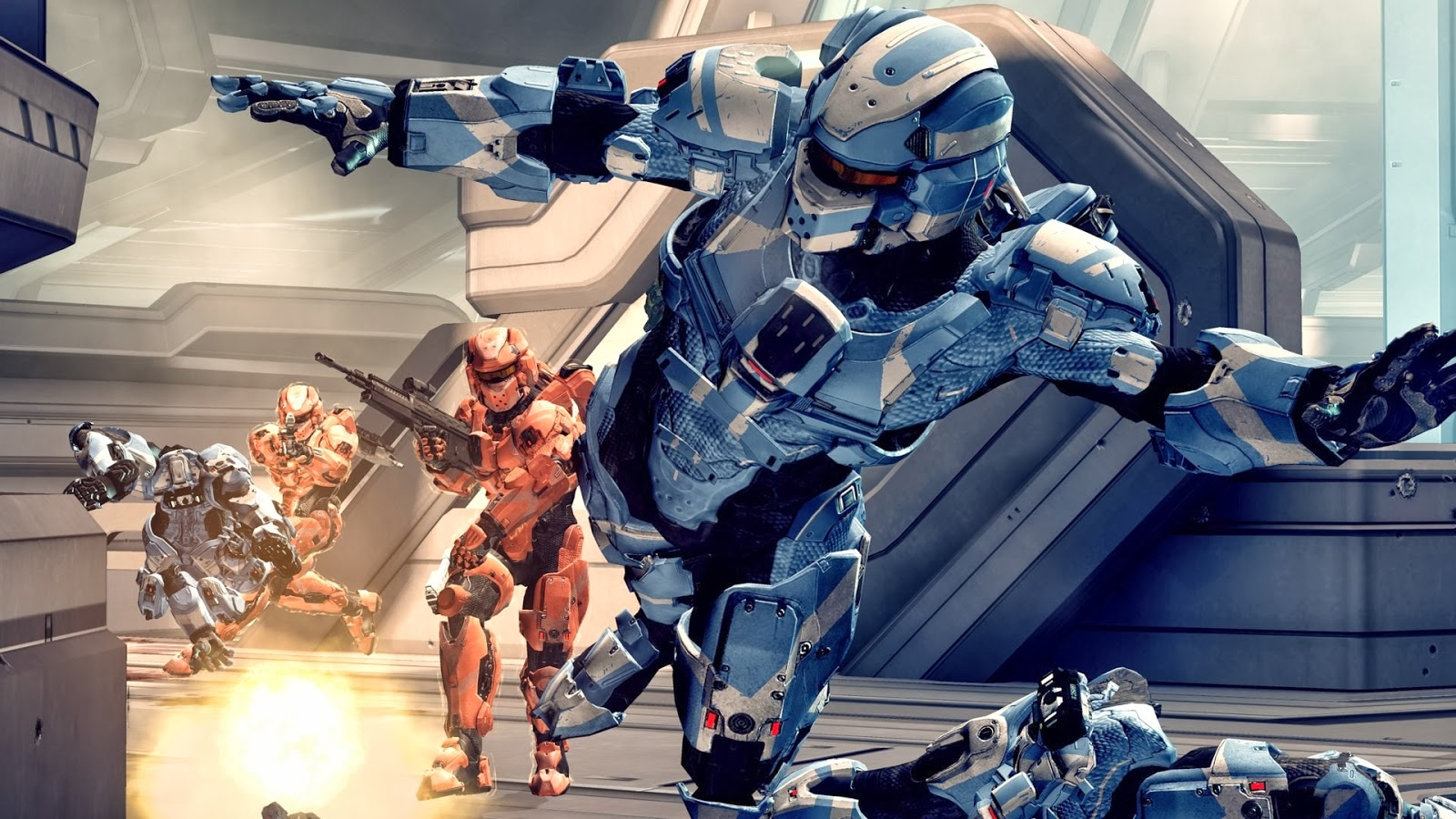 Hd Wallpapers Blog Halo 4 Master Chief Wallpapers 1600x900