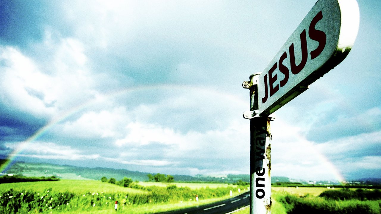 One Way Jesus Wallpaper High Definition Photos For Desktop 1280x720