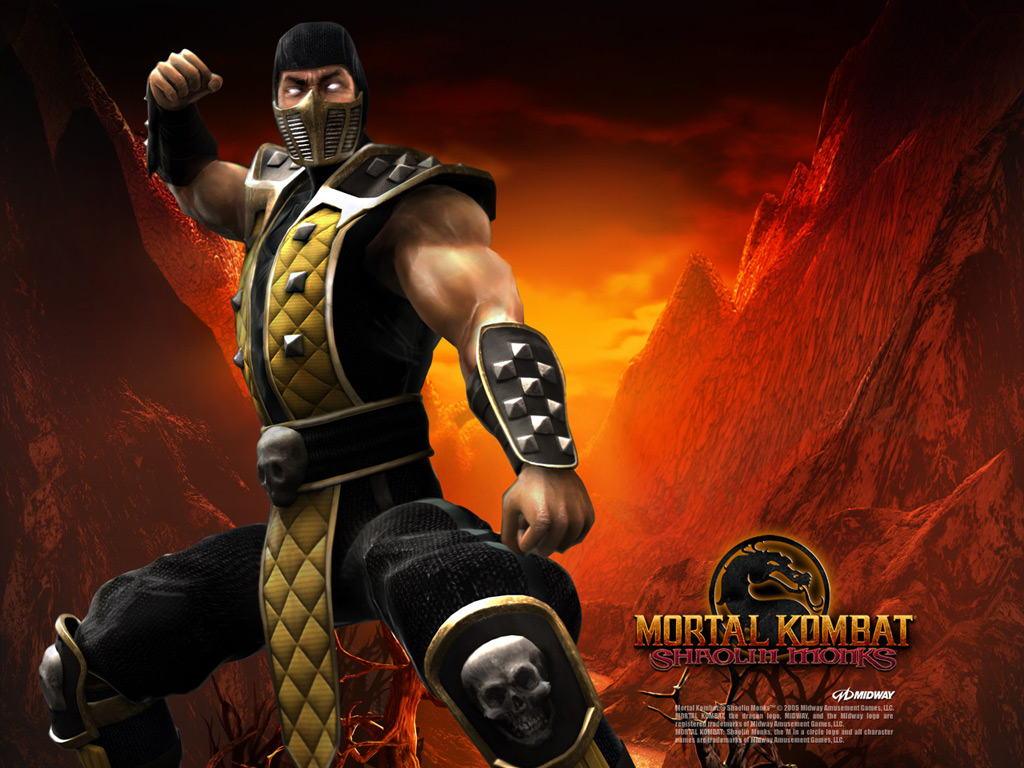 Scorpion Wallpaper Mortal Kombat   FotoLatinasCom 1024x768