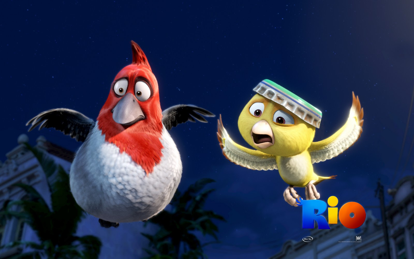 Rio Angry Birds HD Wallpaper All Character Posters 1600x1000