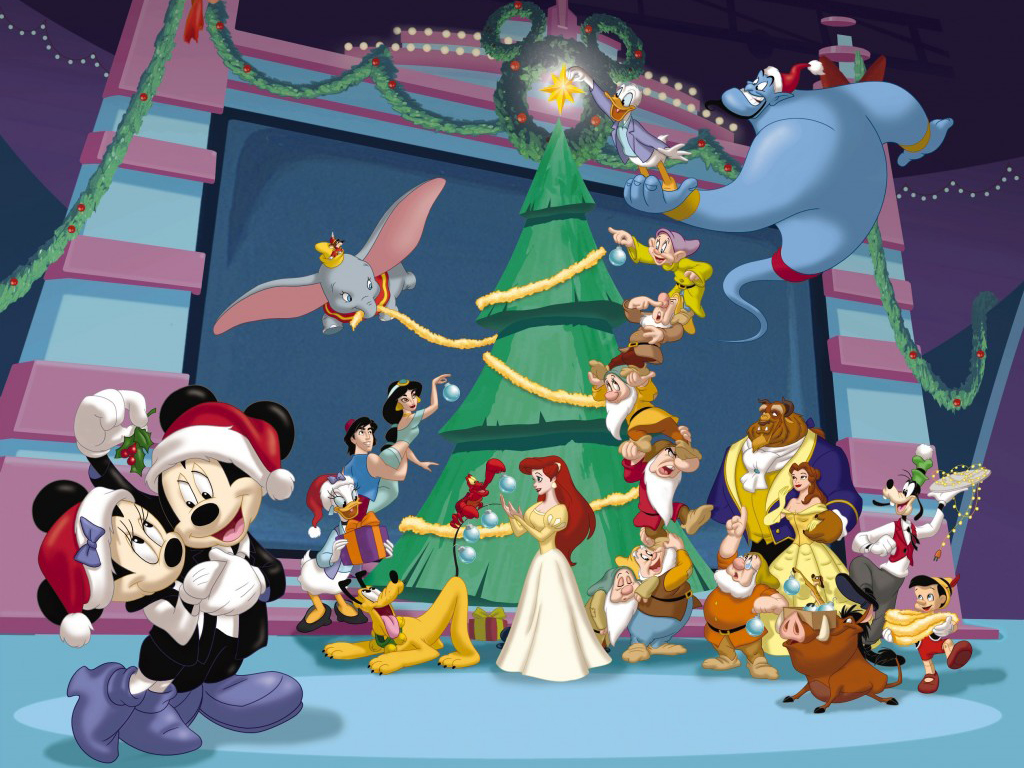 Free Download Christmas Decorating With Mickey Mouse Christmas