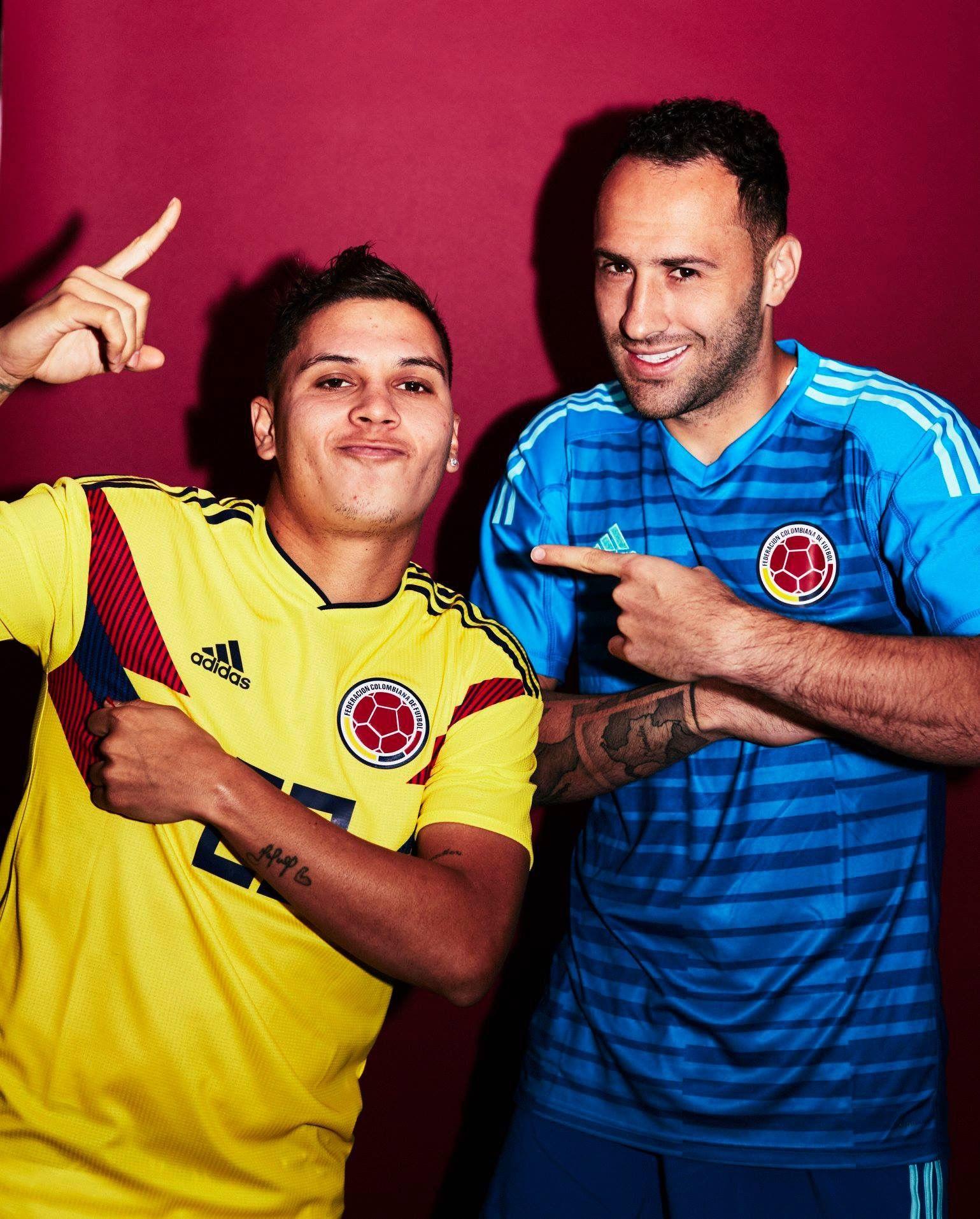 Juan Fernando Quintero y David Ospina Shu Mama Colombia 1539x1913