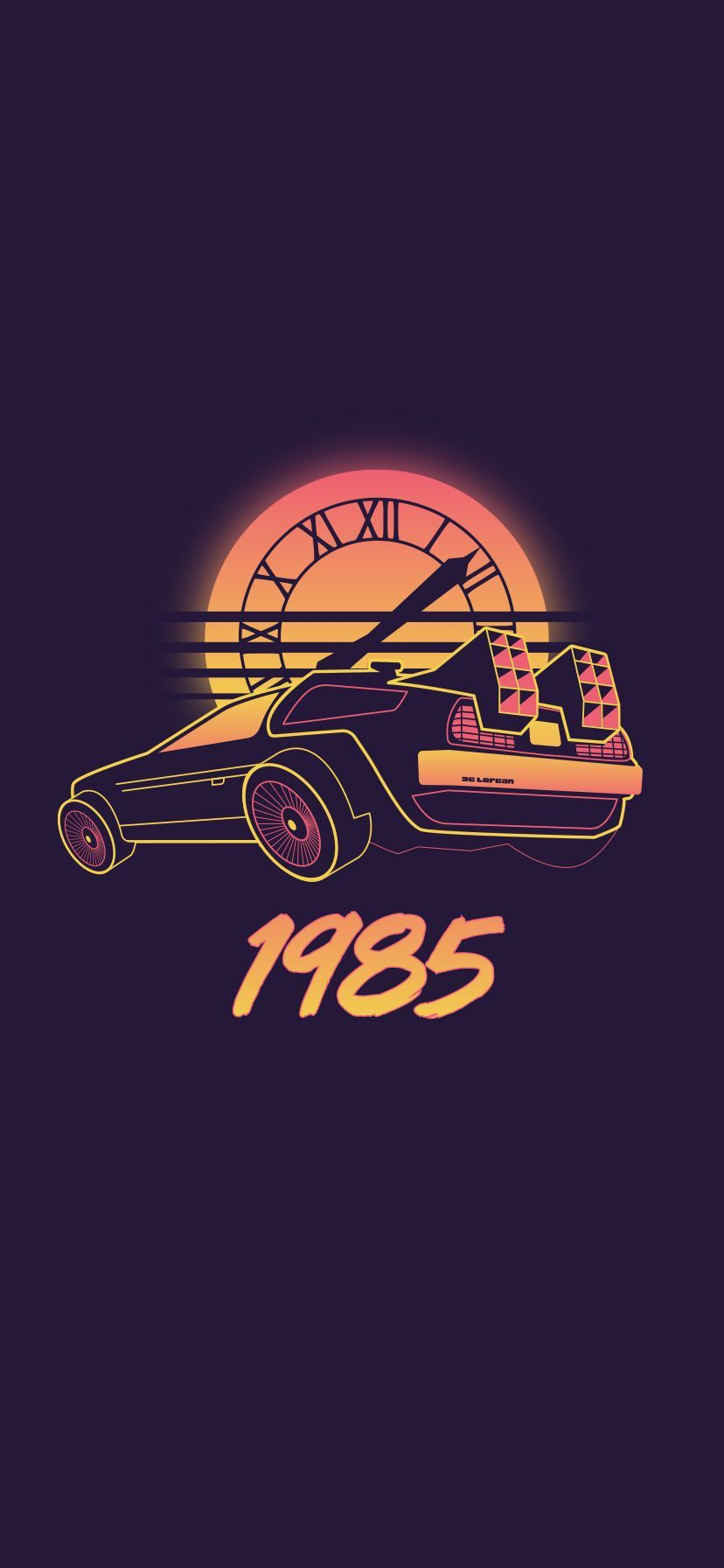 Back to the Future iPhone Wallpapers   Top Back to the Future 828x1792