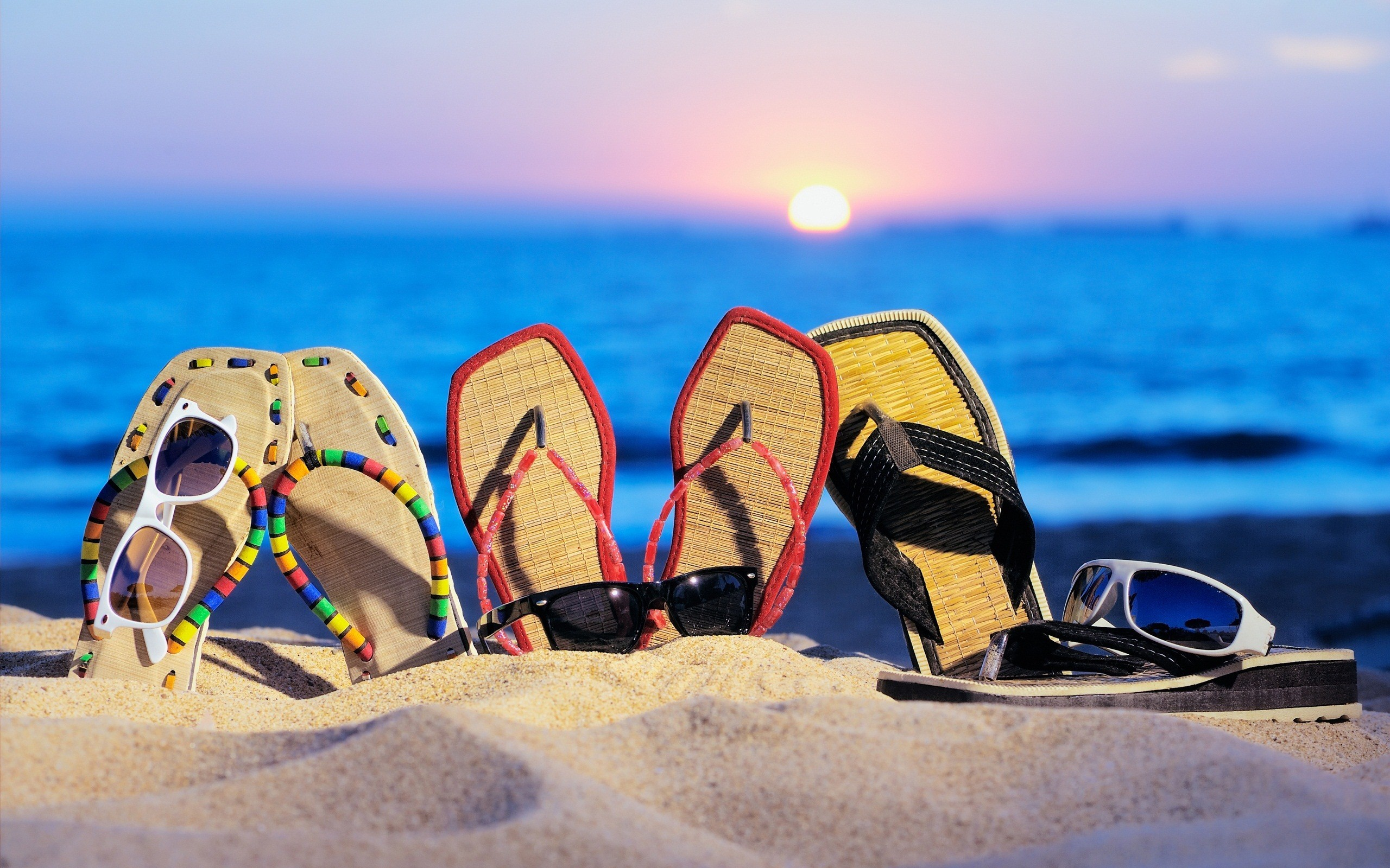 Funny Summer Wallpaper in Beach HD Wallpapers 2560x1600