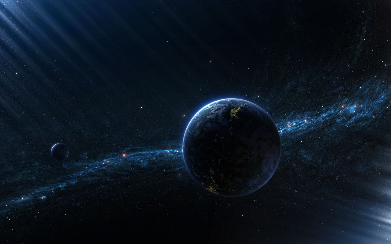 Space Background image for tablet pc Samsung Galaxy Tab 101 1280x800 1280x800