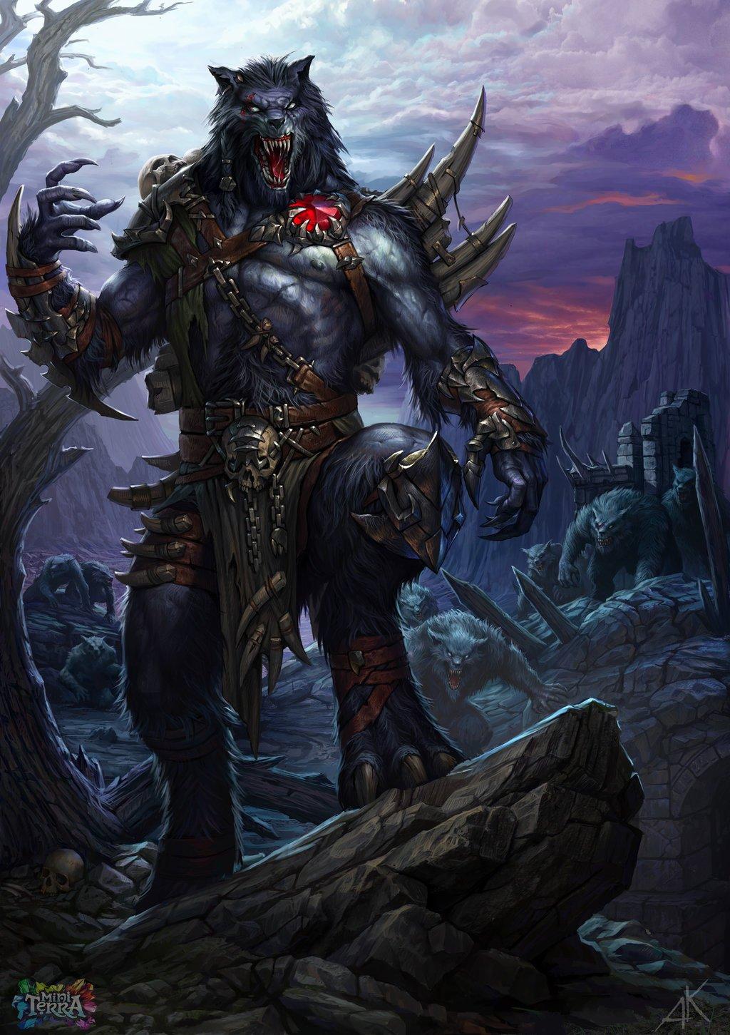 werewolf Vinfor by Kuzinskiy 1024x1451