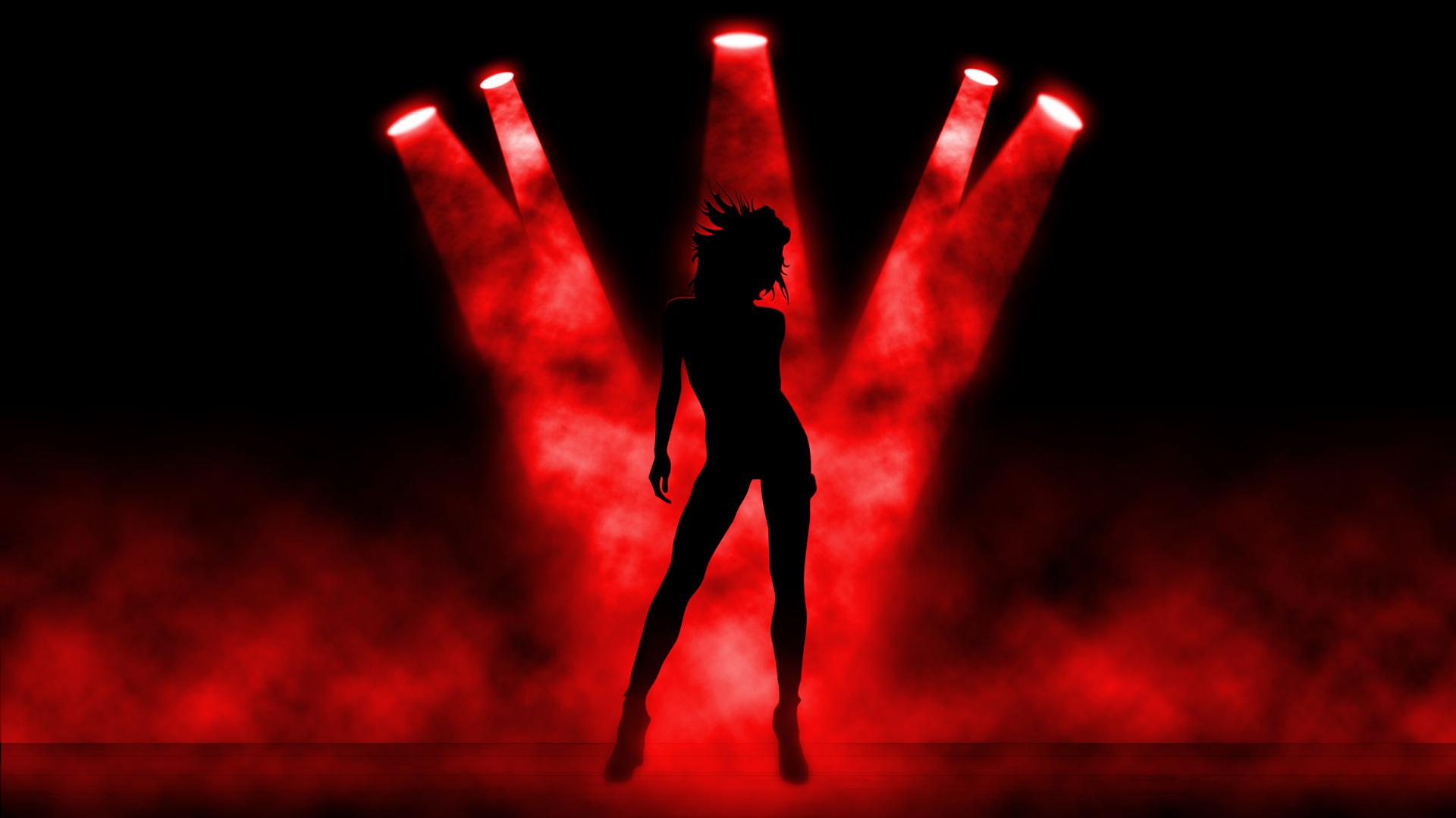 HD Dance Girl 1080p Wallpaper   Creative Graphics Wallpapers 1920x1080