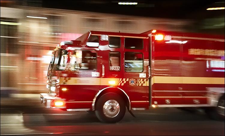 Free Download Fast Fire Truck Ecard Postcard Fast Fire Truck