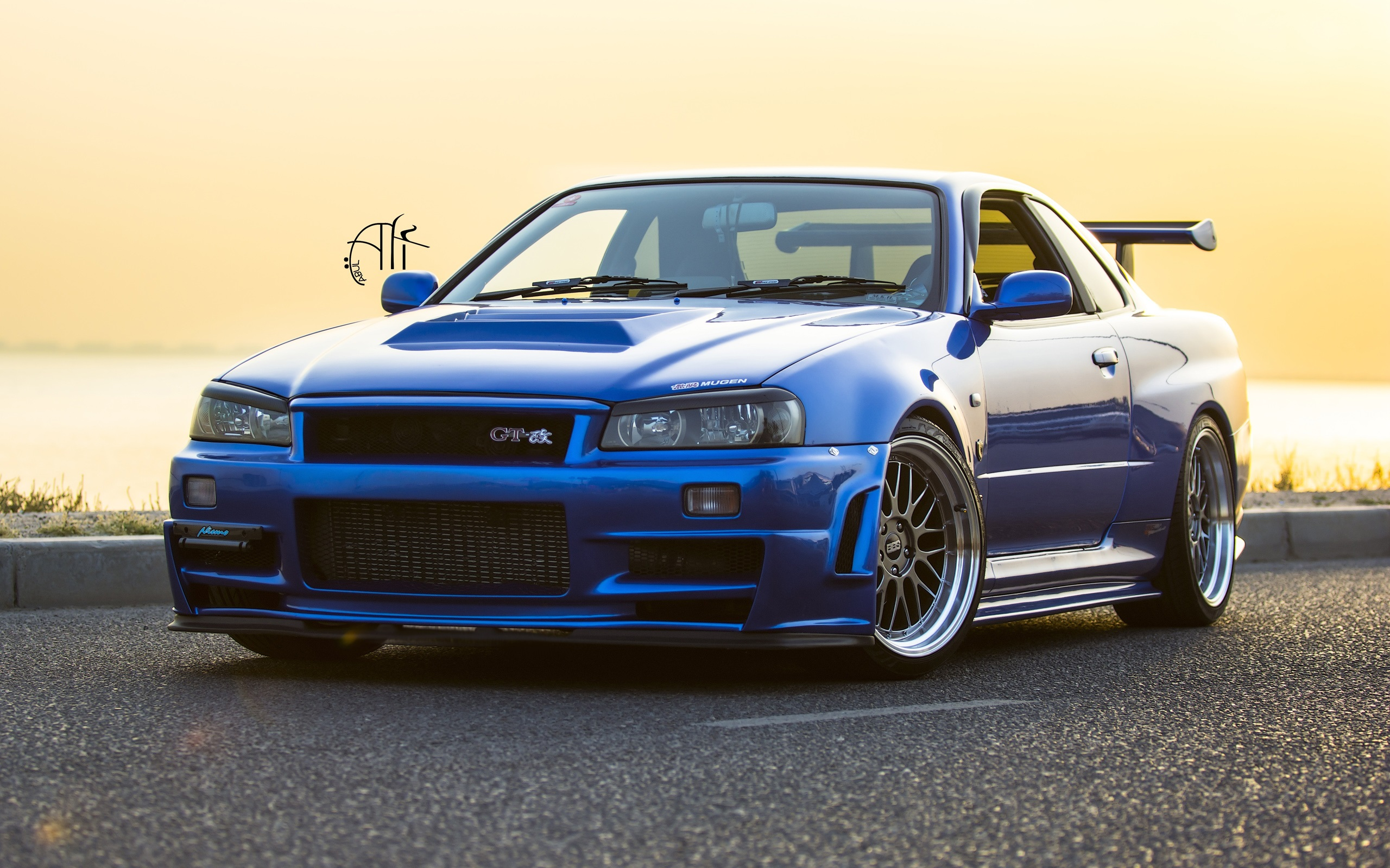 Nissan GTR R34 Wallpaper blue car HD Wallpapers Pictures 2560x1600