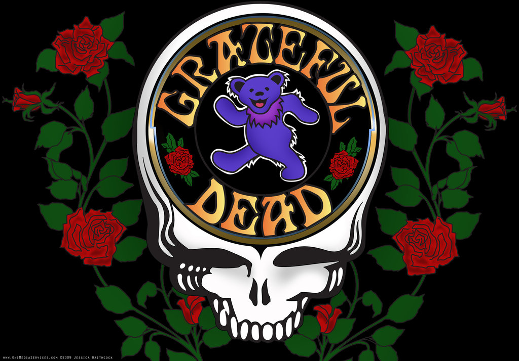Grateful Dead Poster by Oni4219 1024x714