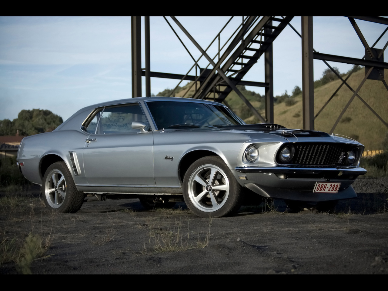 1969 Ford Mustang Hardtop   Side Angle   1280x960   Wallpaper 1280x960