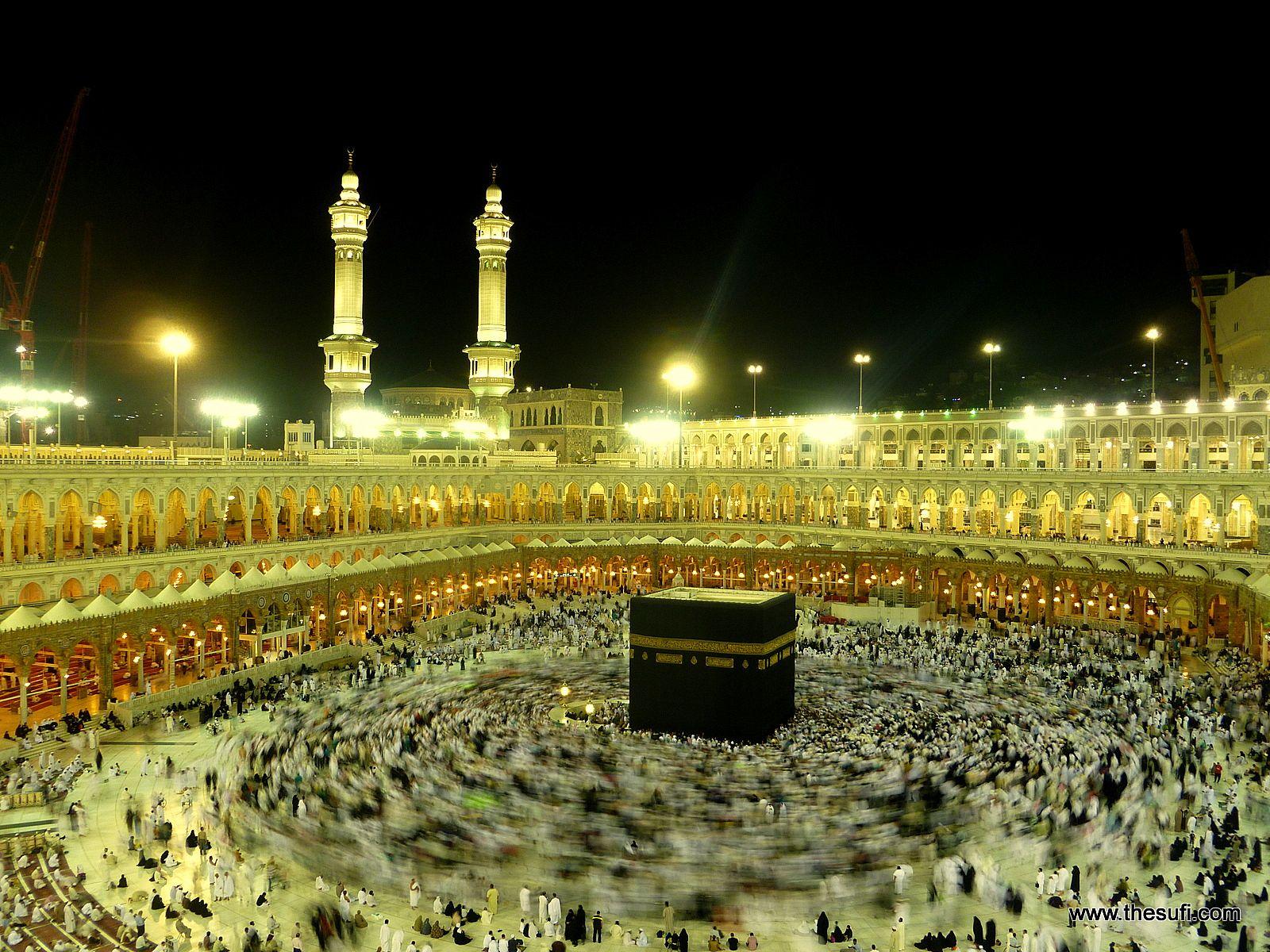 kaaba at  masjid e haraam  makkah  muazma wallpaper 1600pxjpg large 1600x1200