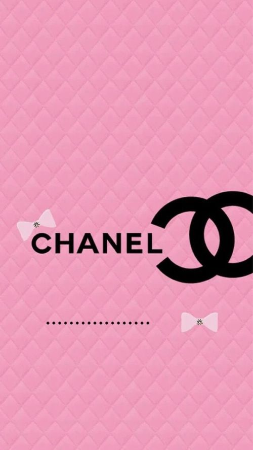 Backgrounds Pinterest Chanel Chanel Pink and iPhone wallpapers 500x887
