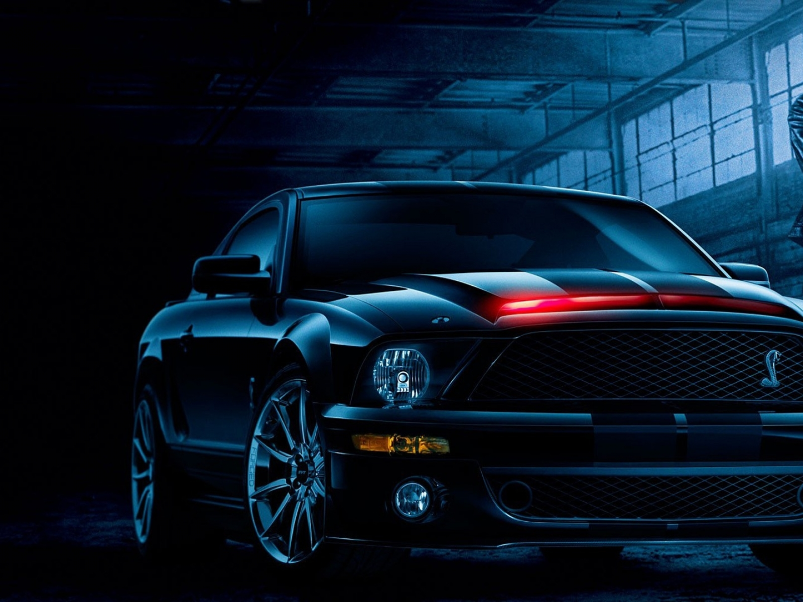 muscle cars ford mustang knight rider widescreen 1920x1080 wallpaper 1600x1200