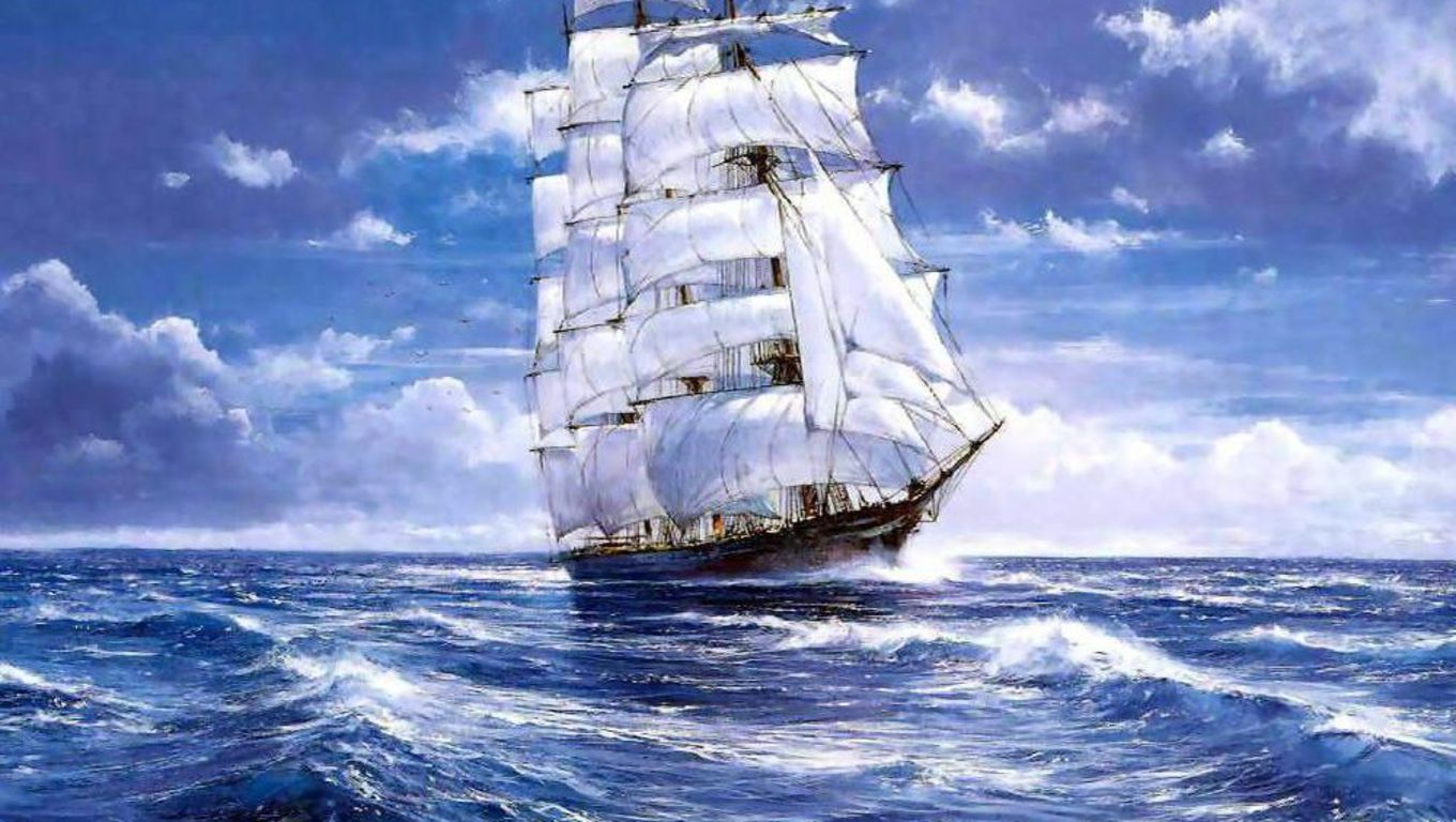 The Tall Ships Wallpaper PicsWallpapercom 1360x768