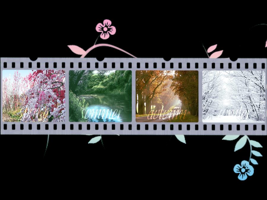 Four Seasons Wallpaper by Alexya16 900x675