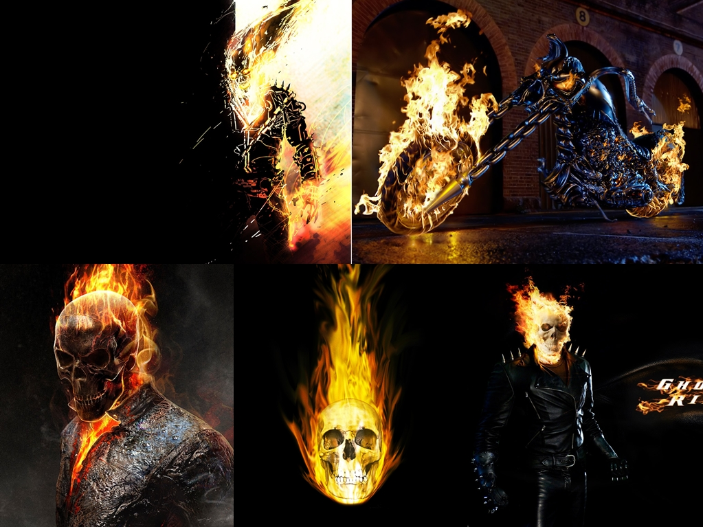 rider Ghost Rider Windows Theme contain 10 high quality backgrounds 1023x767
