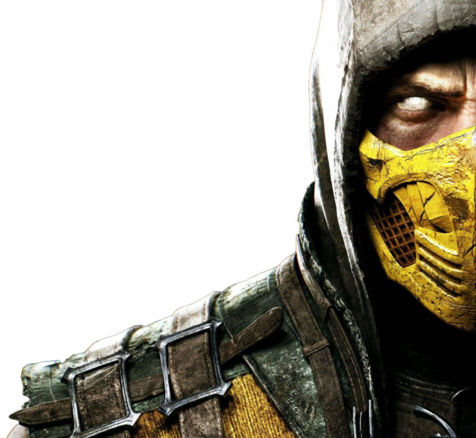 mortal kombat x scorpion by theomeganerd fan art wallpaper other 2014 932x858