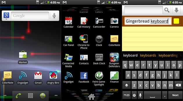Gingerbread Launcher Keyboard und Wallpaper gratis im Market GIGA 630x350