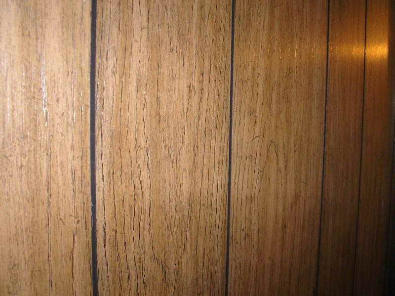 Wallpaper Over Wood Paneling Images