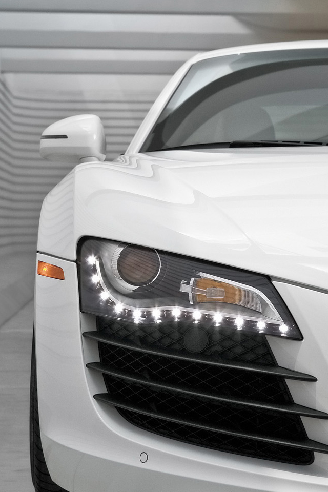 Best White Audi R8 Wallpaper Phone Pictures