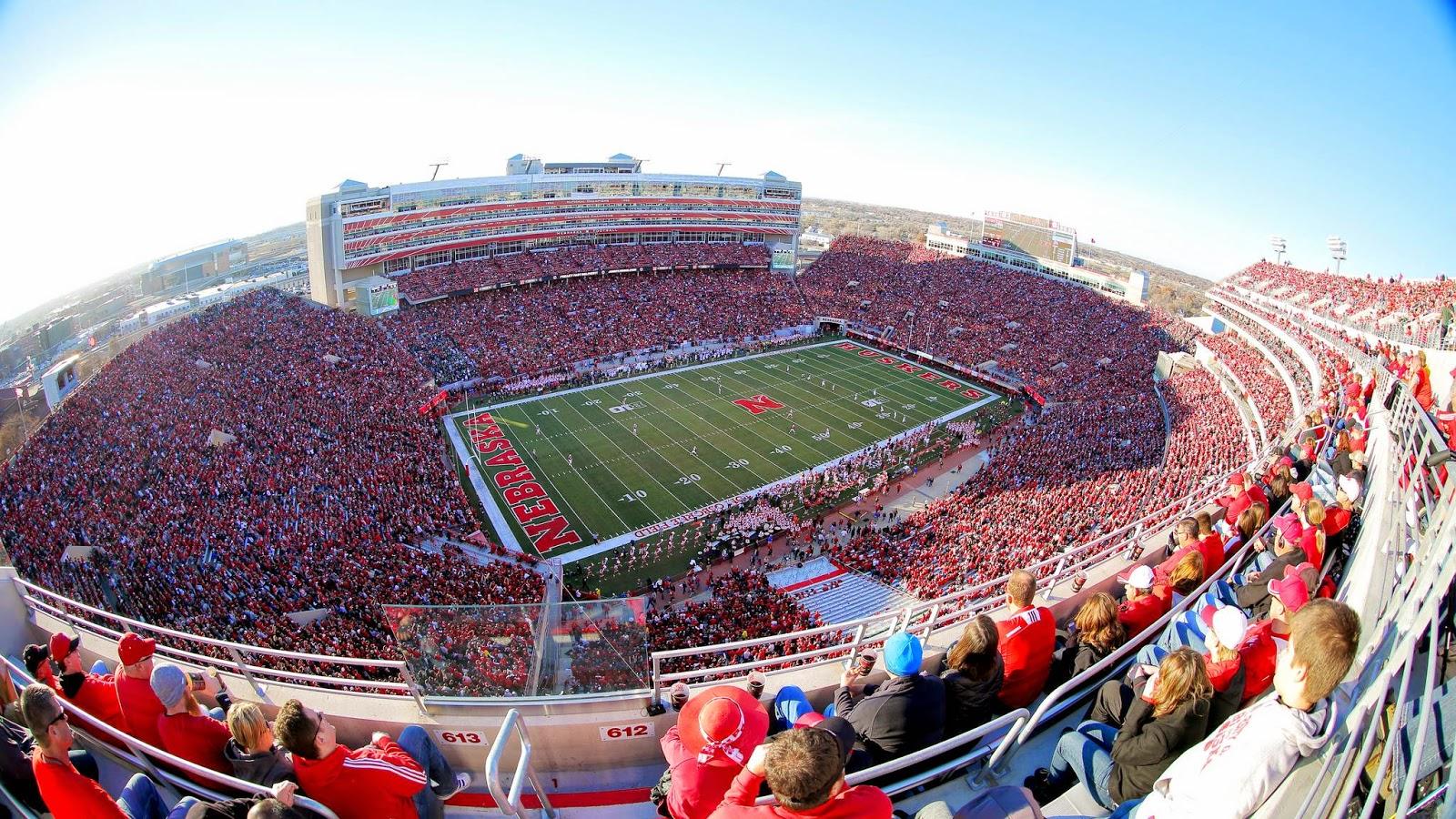 Nebraska Huskers Memorial Stadium seats over 90000 after its recent 1600x900
