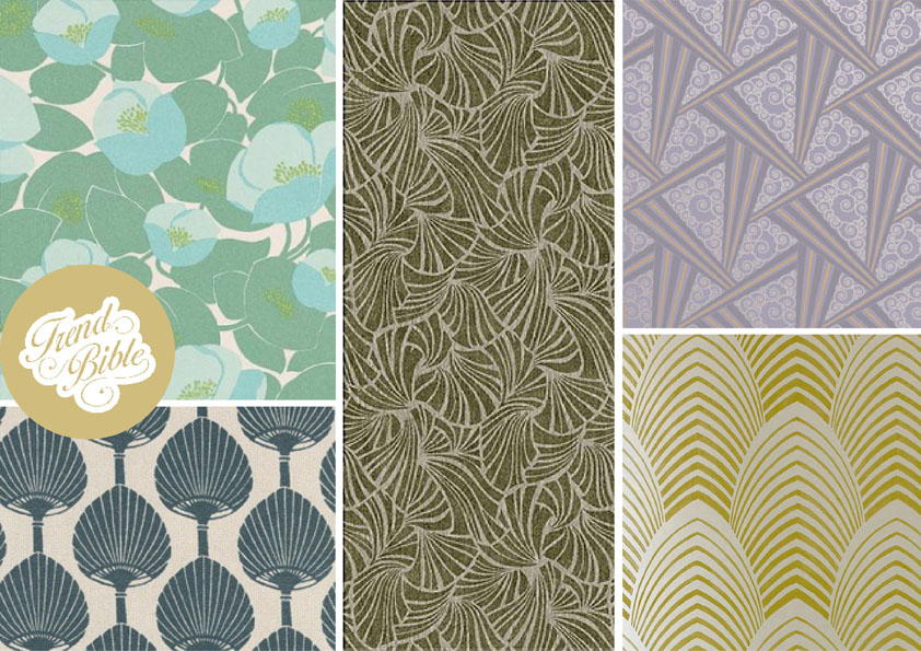 Art Deco Inspired Wallpaper Wallpapersafari