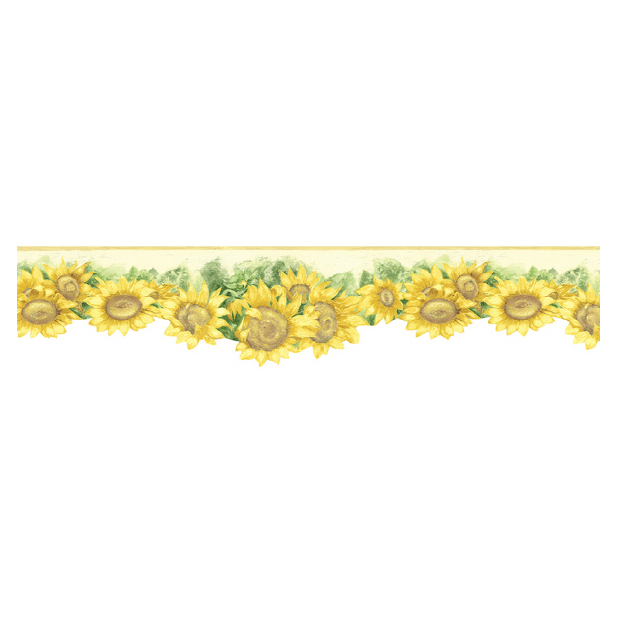 httpwwwebaycomitmEDEN KITCHEN SUNFLOWER wallpaper border 900x900