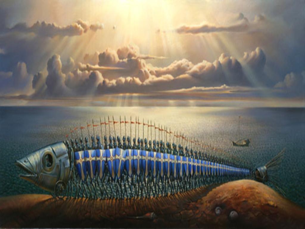 Fluindo simplesmente A Viagem fantstica de Vladimir Kush 1024x768