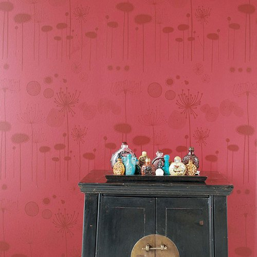 Ferm living fairy flower wallpaper LINE IT UP WALLPAPER 500x500