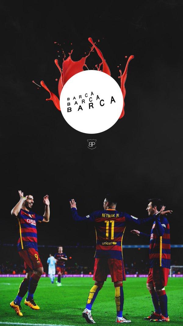 mesqueunclubgr Wallpaper Suarez Neymar and Messi 600x1067