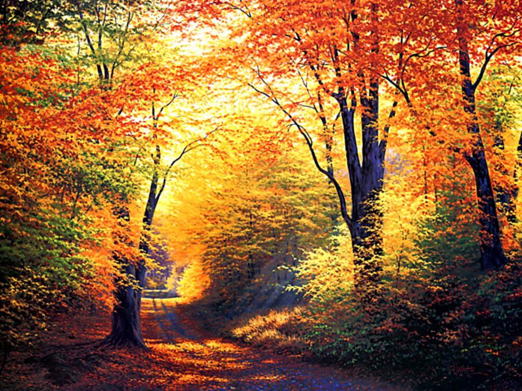 love quotes autumn desktop background 1024x768