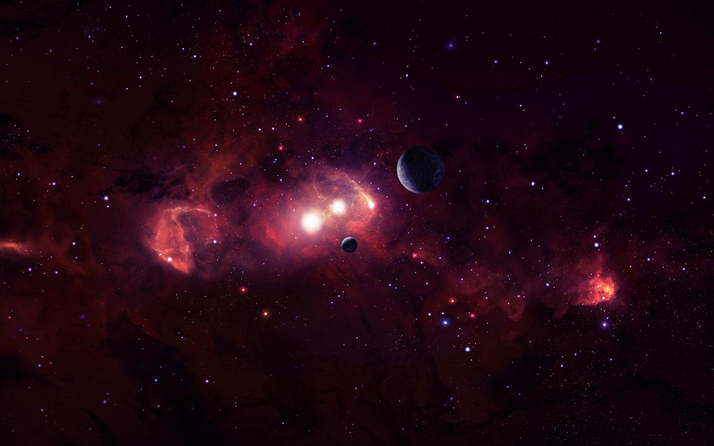 Deep Space Backgrounds 1440x900