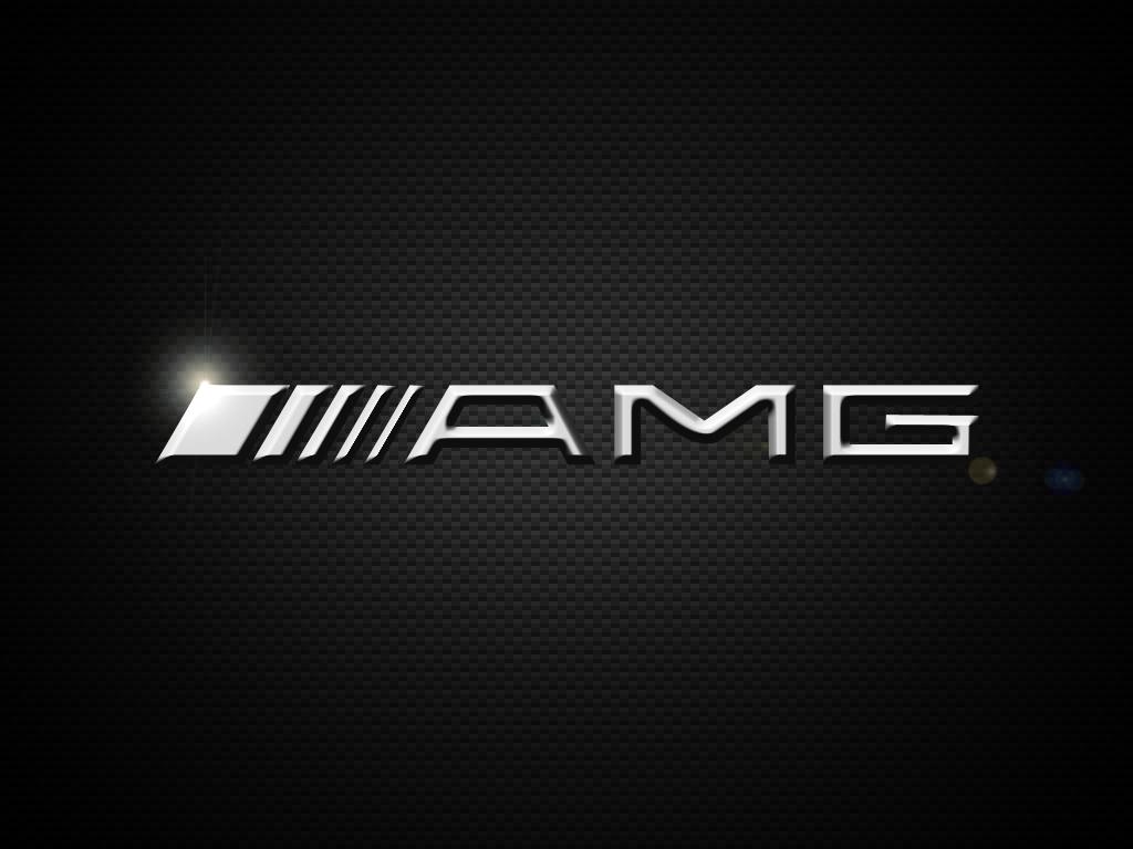 AMG Logo Wallpaper 1024x768