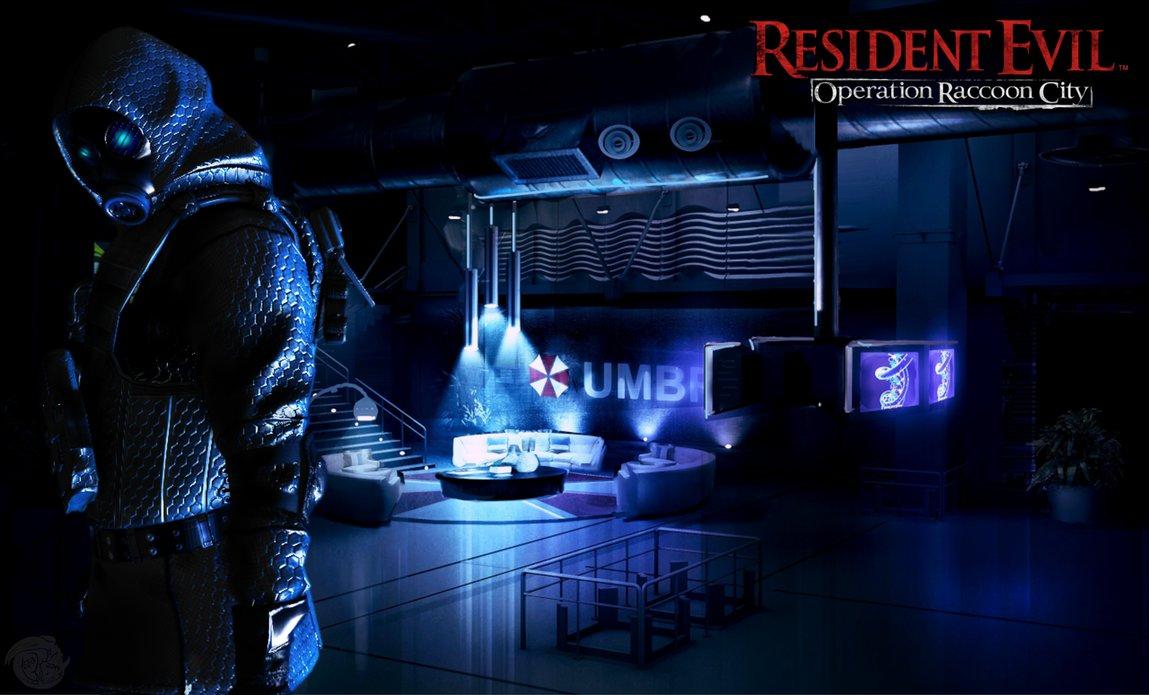 Resident evil vector wallpaper