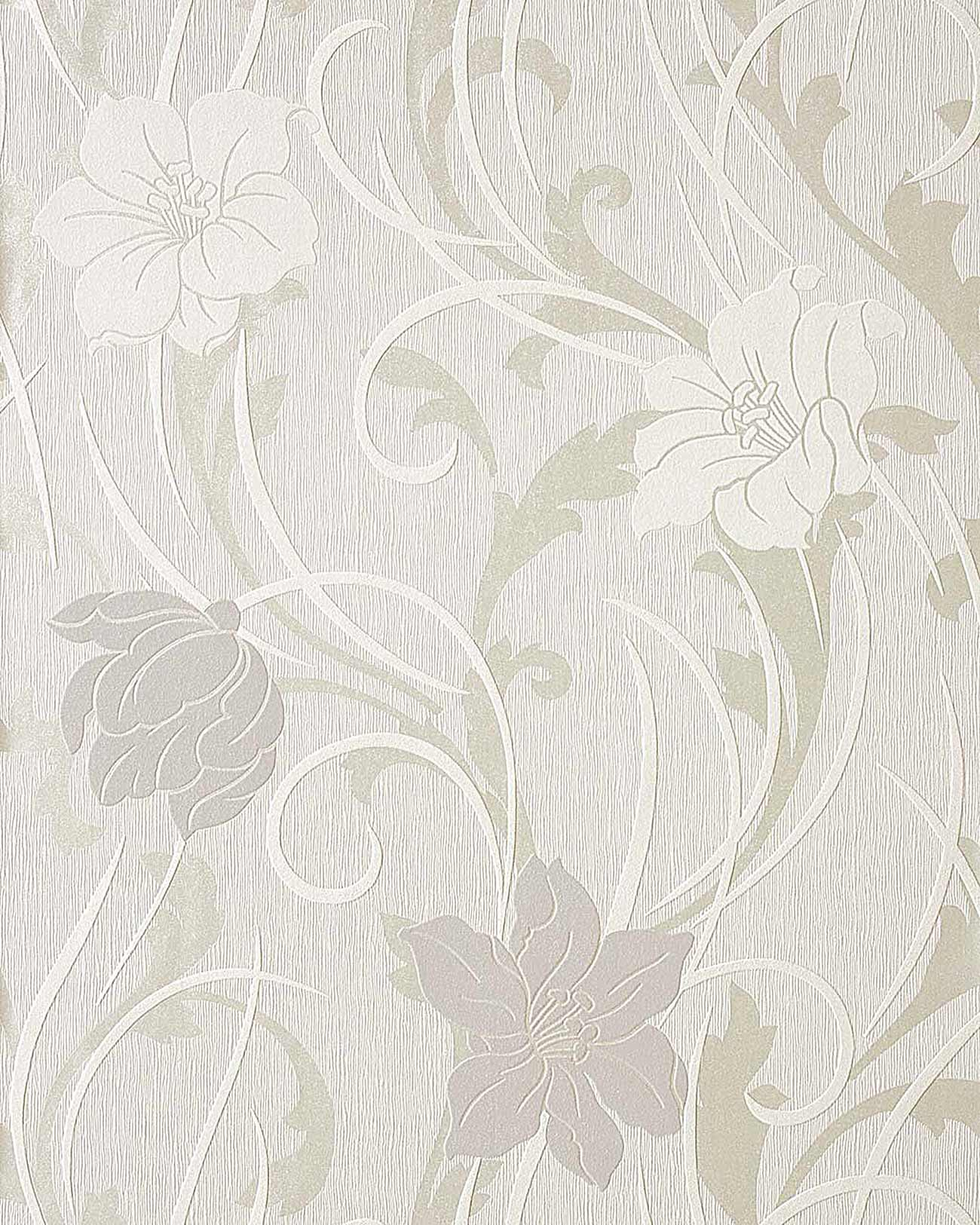 Free Download Wallpaper Wall Style Flower Floral Vinyl Edem 111 30