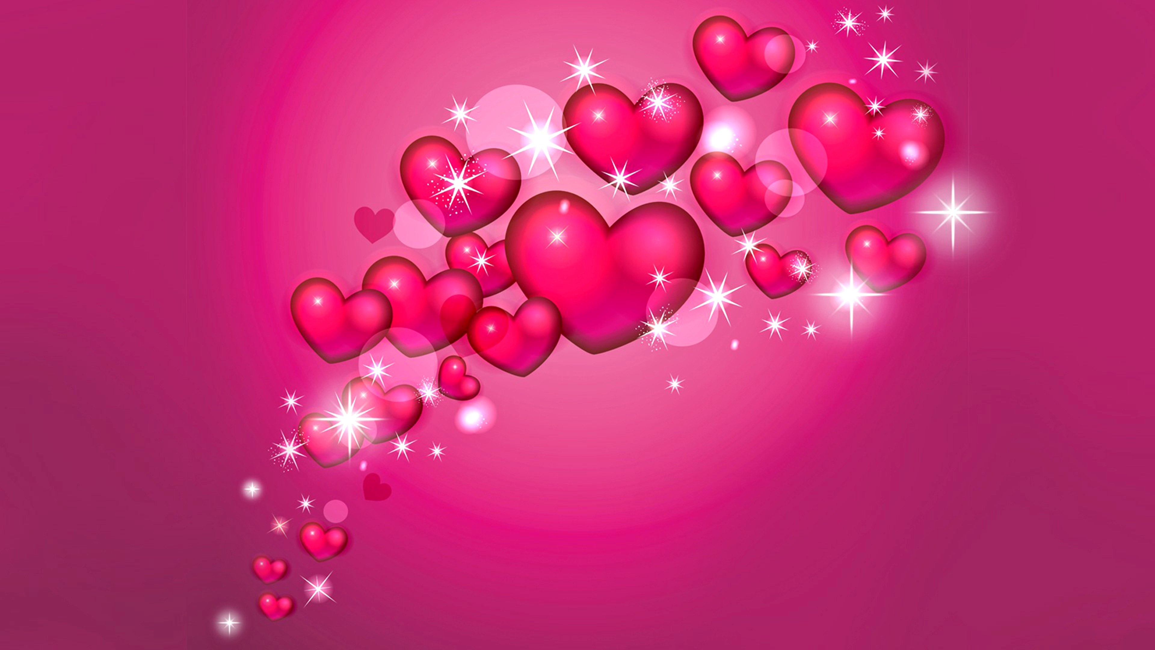 Valentine Heart Desktop Wallpaper - WallpaperSafari